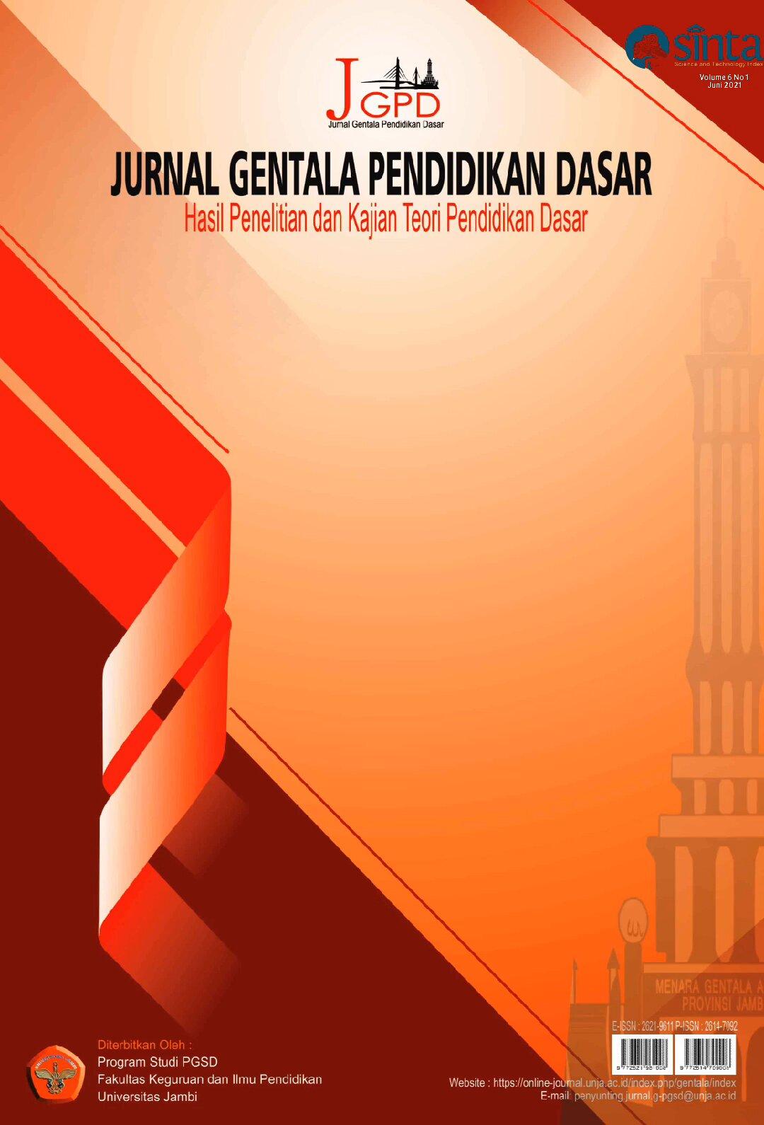 View Vol. 6 No. 1 (2021): Jurnal Gentala Pendidikan Dasar