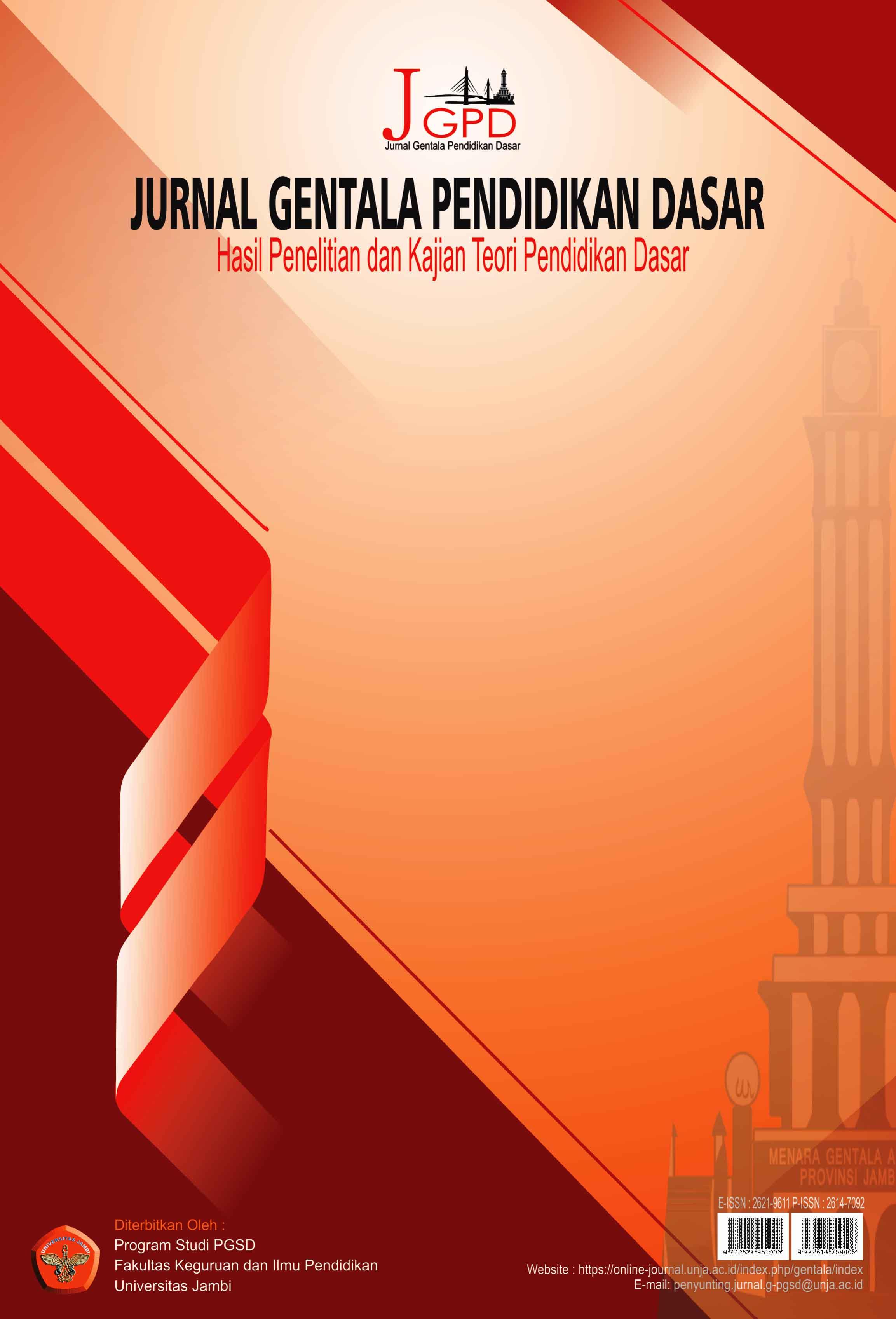 View Vol. 5 No. 1 (2020): Jurnal Gentala Pendidikan Dasar