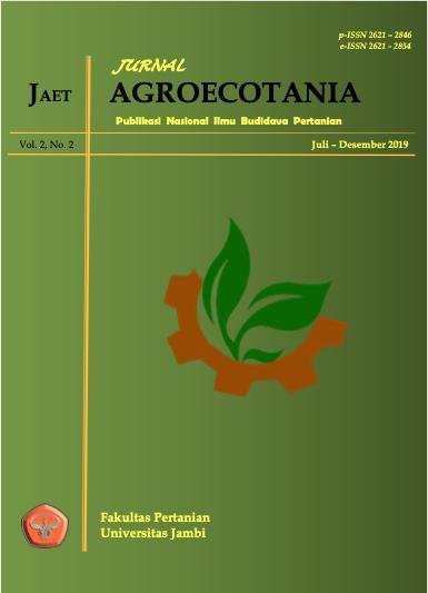 View Vol. 2 No. 2 (2019): Jurnal Agroecotania: Publikasi Nasional Ilmu Budidaya Pertanian