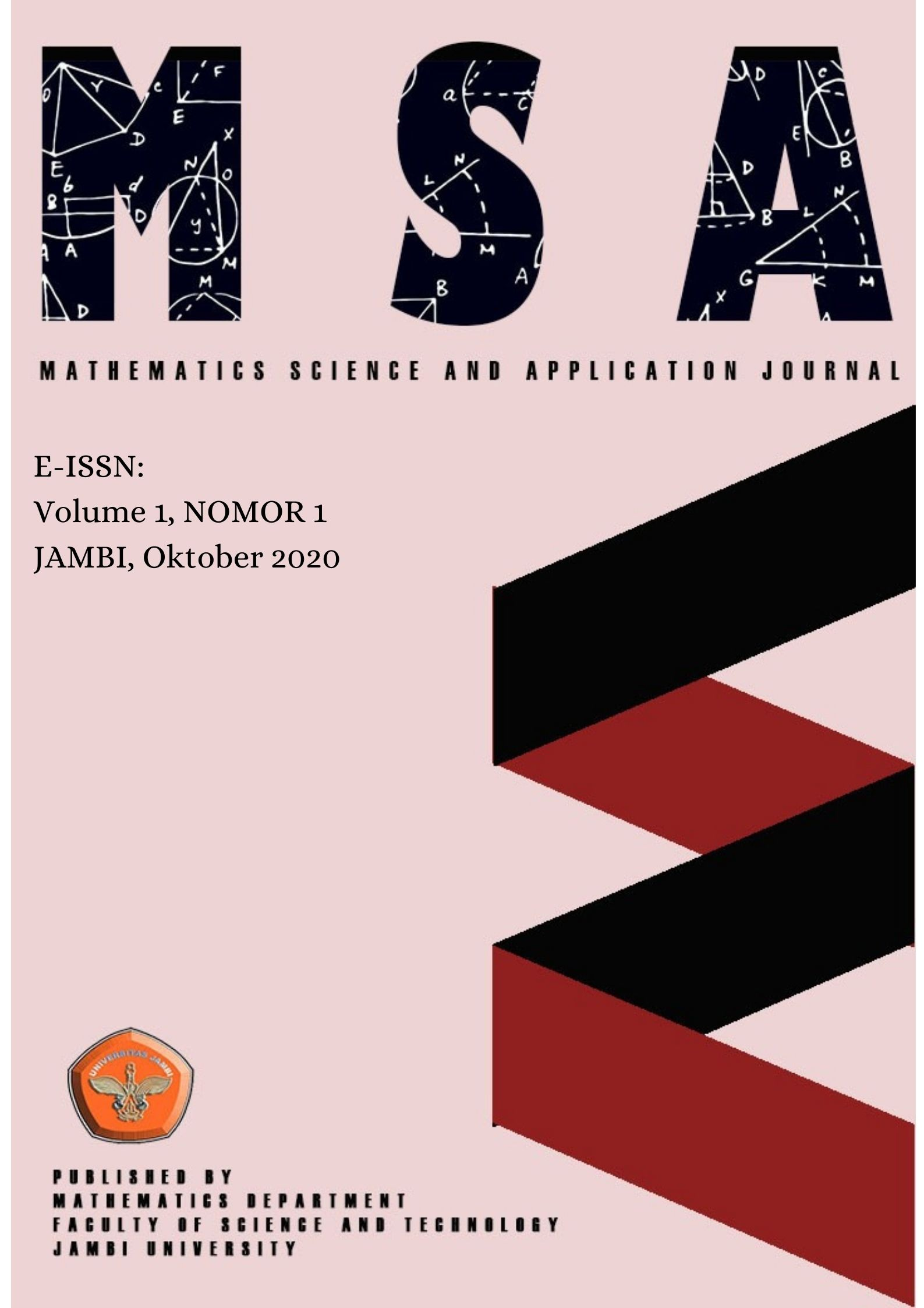 View Vol. 1 No. 1 (2020): Mathematics and application Journal