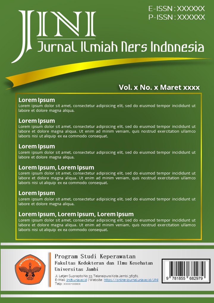 Jurnal Ilmiah Ners Indonesia