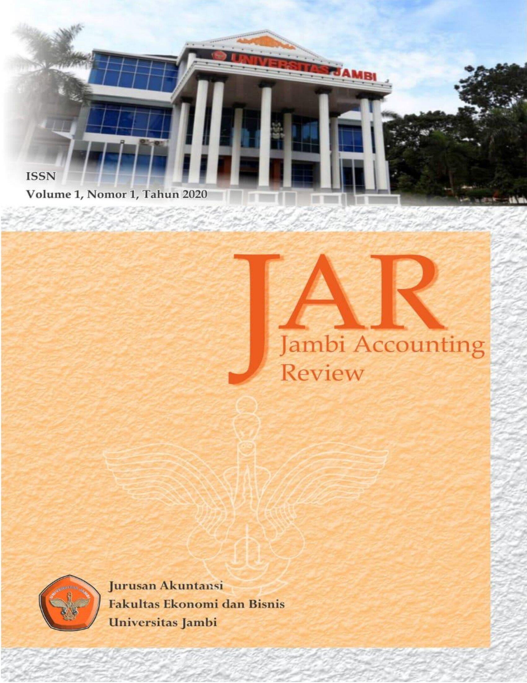 View Vol. 1 No. 1 (2020): Jambi Accounting Review (JAR)