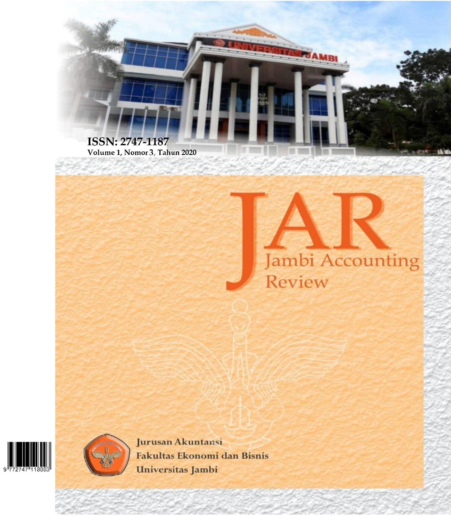 View Vol. 1 No. 3 (2020): Jambi Accounting Review (JAR)