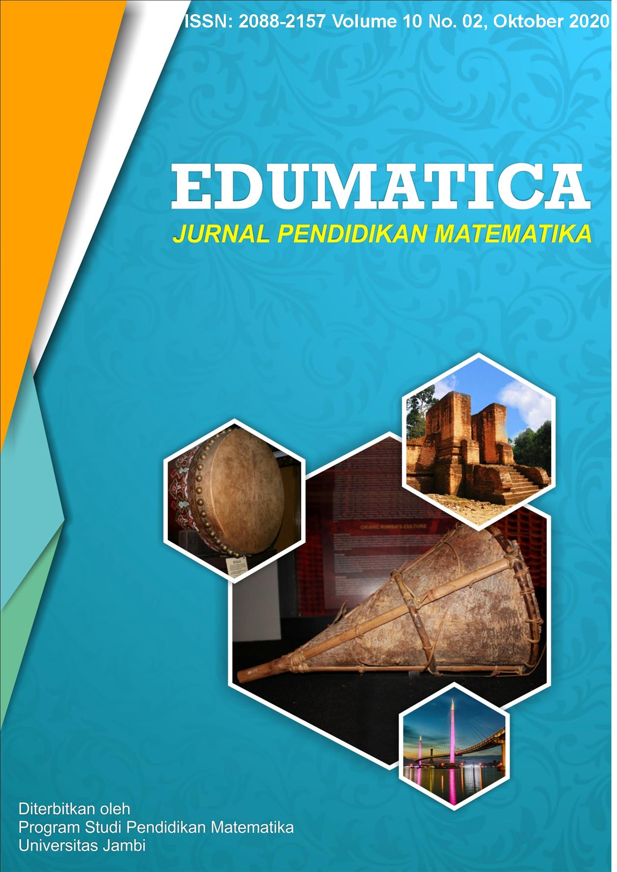 View Vol. 10 No. 2 (2020): Edumatica: Jurnal Pendidikan Matematika