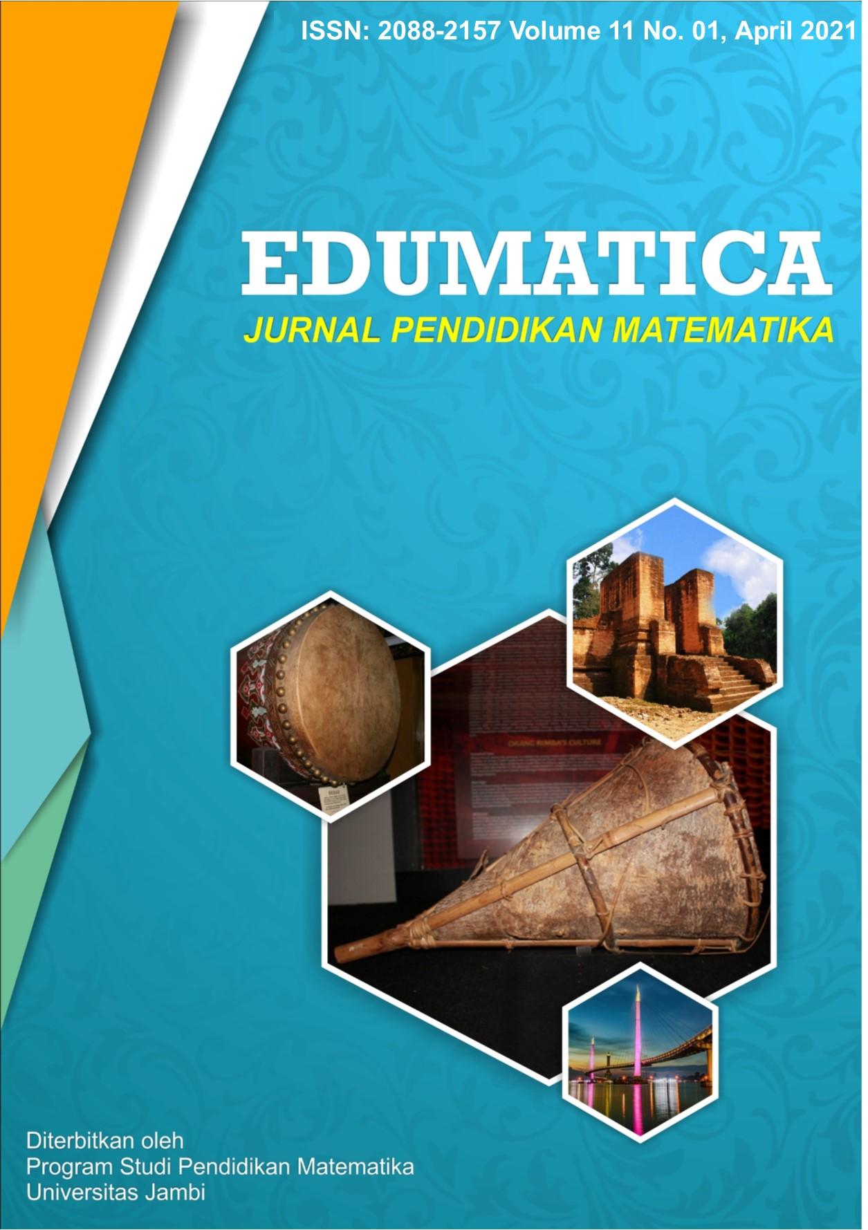 View Vol. 11 No. 01 (2021): Edumatica: Jurnal Pendidikan Matematika