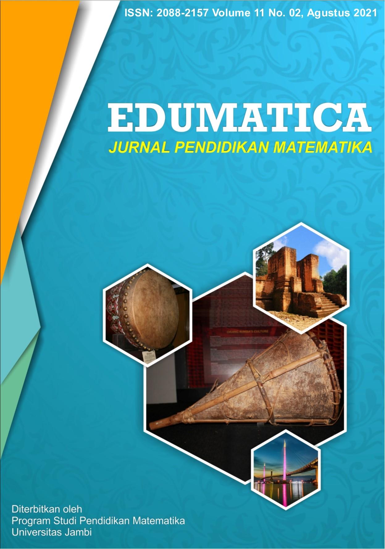 View Vol. 11 No. 02 (2021): Edumatica: Jurnal Pendidikan Matematika