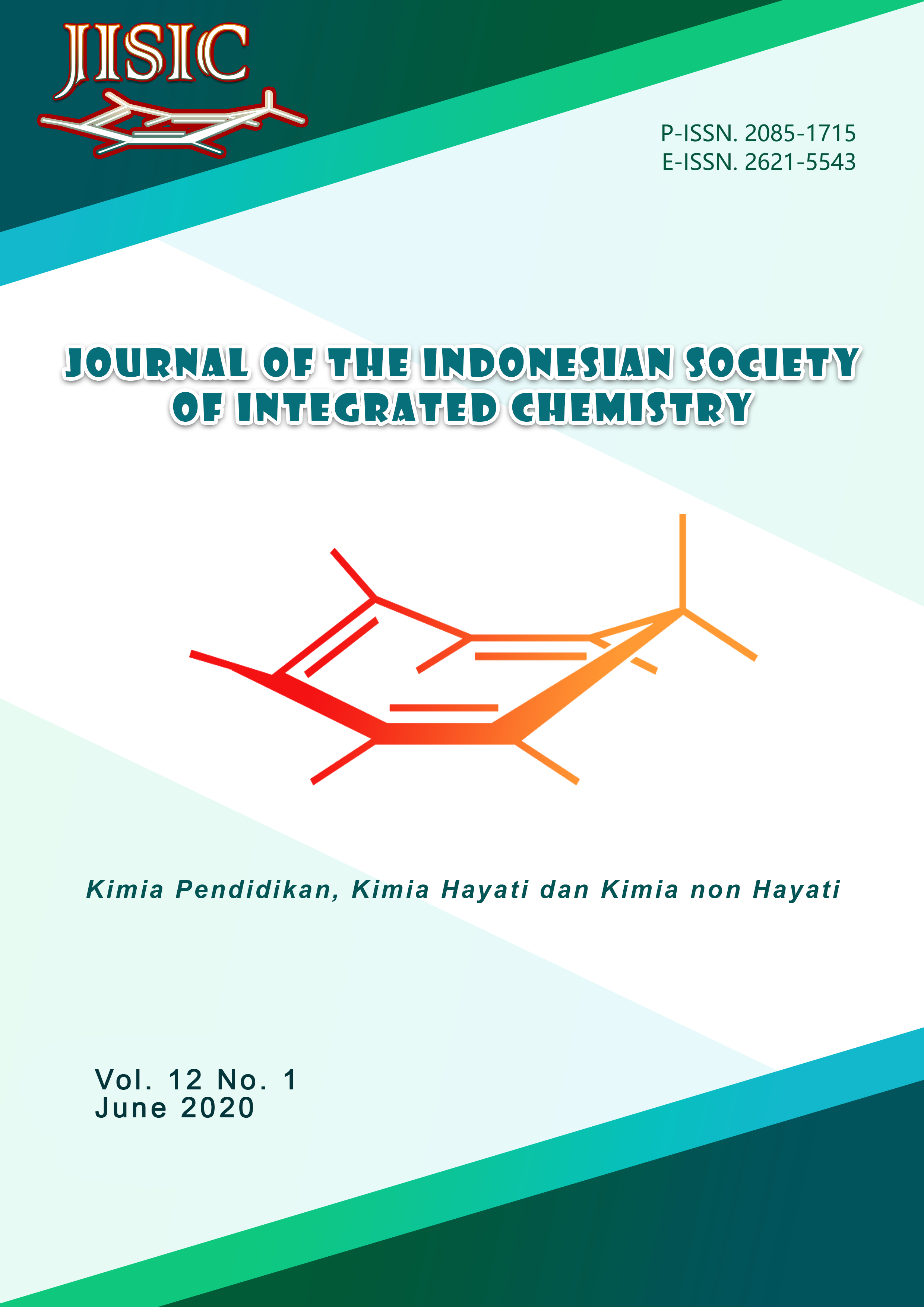View Vol. 12 No. 1 (2020): Journal of The Indonesian Society of Integrated Chemistry