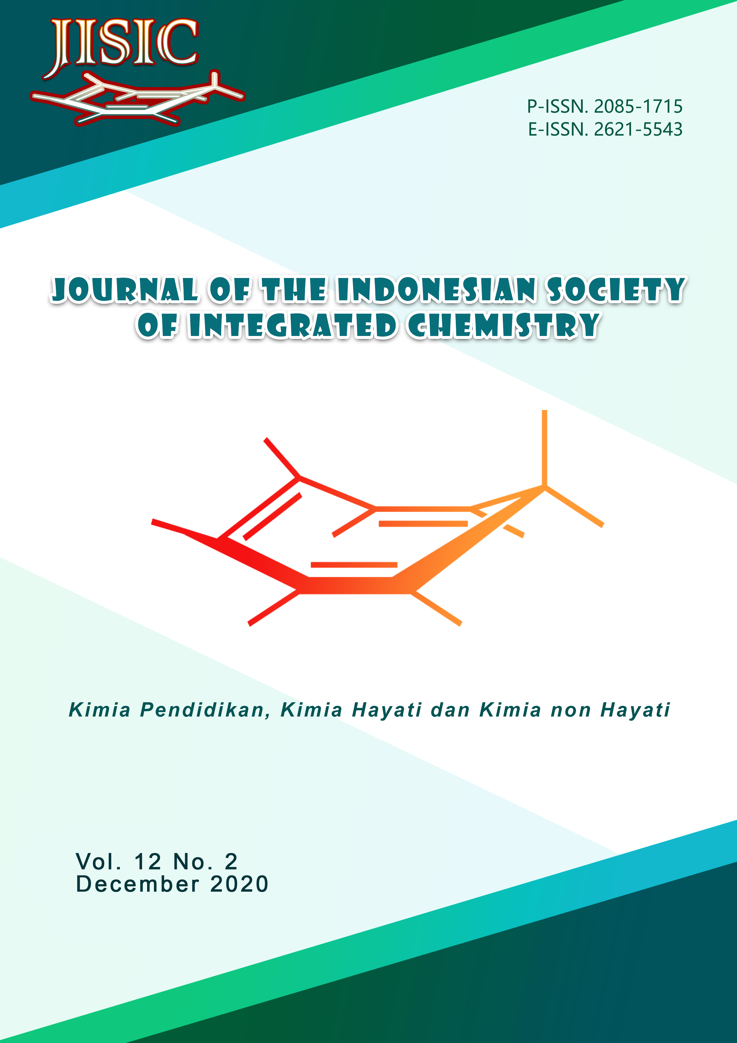 View Vol. 12 No. 2 (2020): Journal of The Indonesian Society of Integrated Chemistry