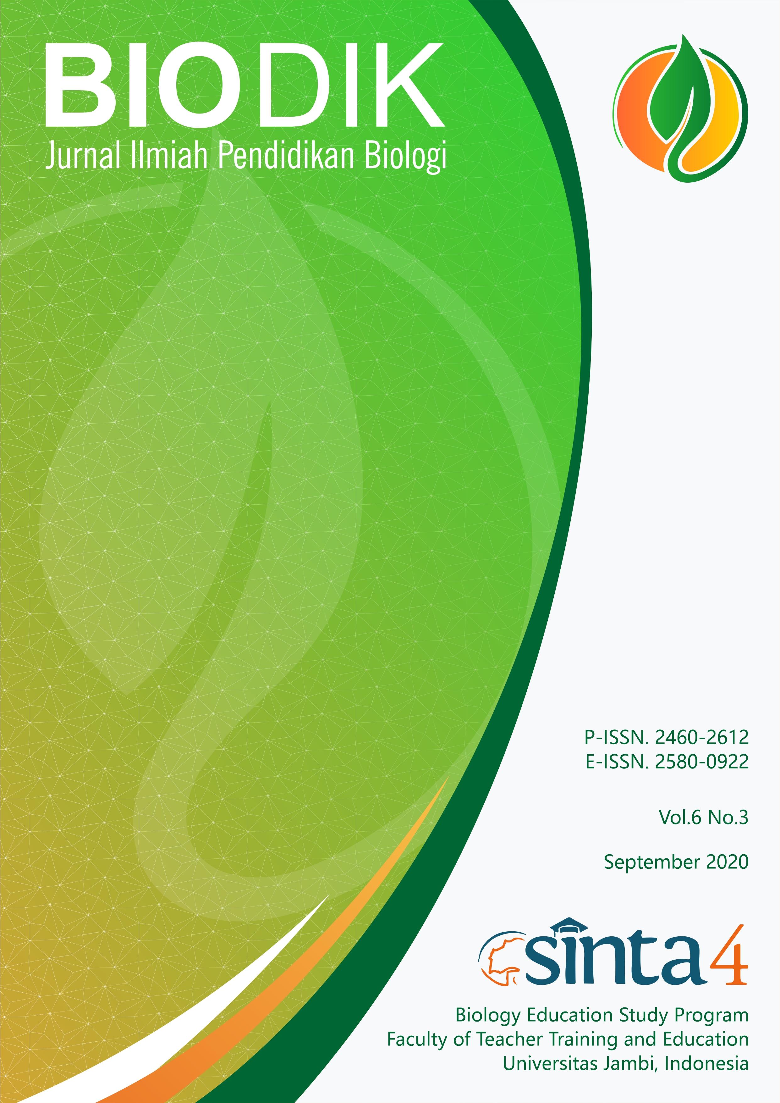 View Vol. 6 No. 3 (2020): September 2020