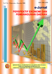 View Vol. 10 No. 1 (2021): e-Jurnal Perspektif Ekonomi dan Pembangunan Daerah