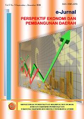 View Vol. 7 No. 3 (2018): e-Jurnal Perspektif Ekonomi dan Pembangunan Daerah
