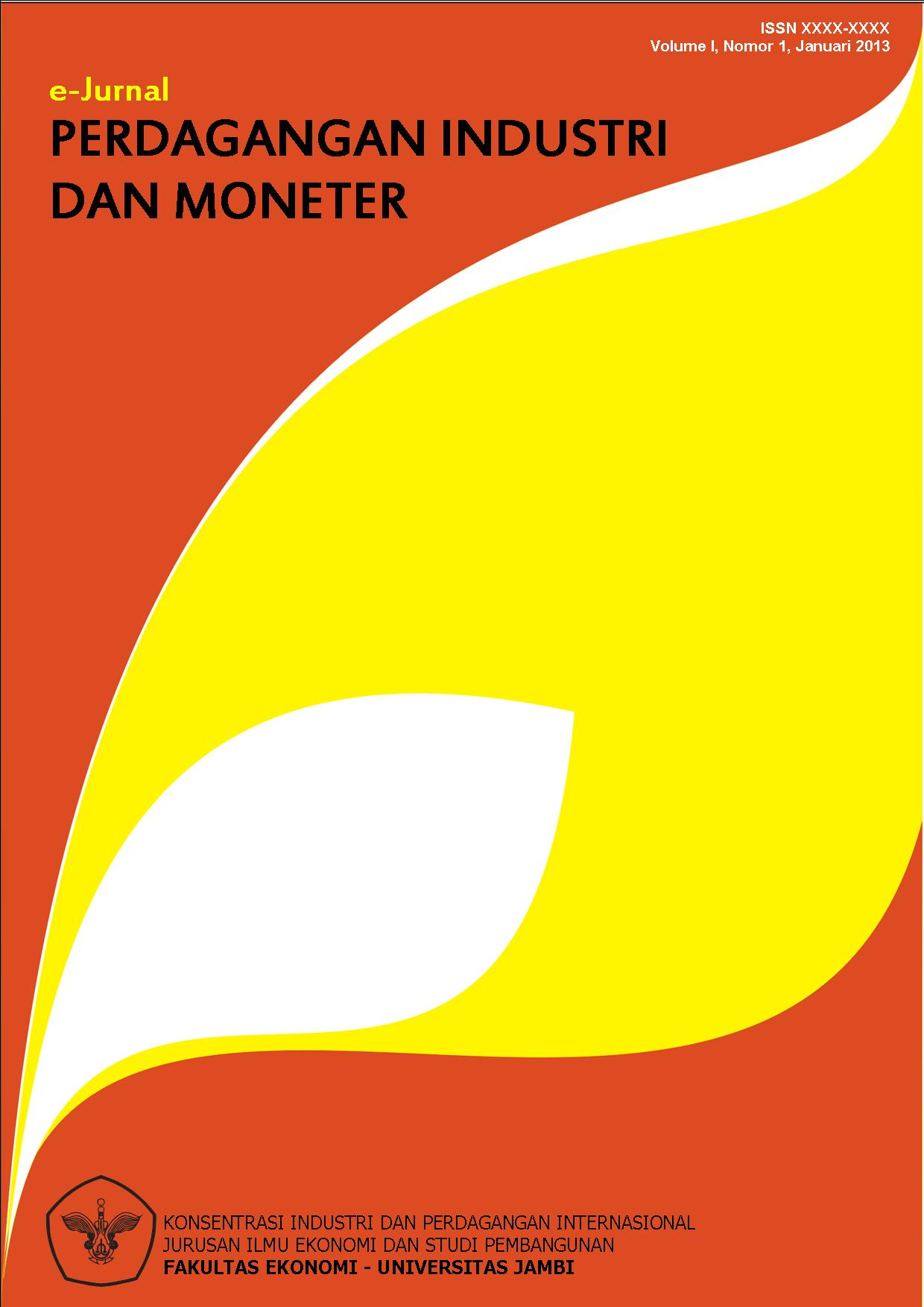 View Vol. 9 No. 1 (2021): E-Journal Perdagangan Industri dan Moneter