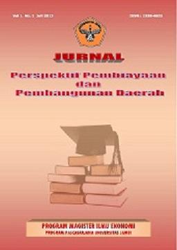 View Vol. 1 No. 1 (2013): Jurnal Perspektif Pembiayaan dan Pembangunan Daerah