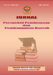 View Vol. 1 No. 2 (2013): Jurnal Perspektif Pembiayaan dan Pembangunan Daerah