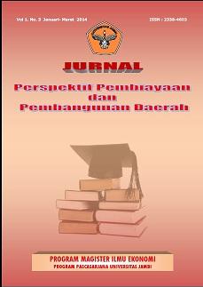 View Vol. 1 No. 3 (2014): Jurnal Perspektif Pembiayaan dan Pembangunan Daerah