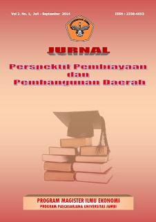 View Vol. 2 No. 1 (2014): Jurnal Perspektif Pembiayaan dan Pembangunan Daerah