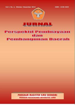 View Vol. 2 No. 2 (2014): Jurnal Perspektif Pembiayaan dan Pembangunan Daerah
