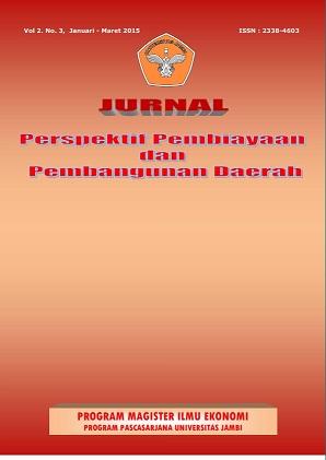 View Vol. 2 No. 3 (2015): Jurnal Perspektif Pembiayaan dan Pembangunan Daerah