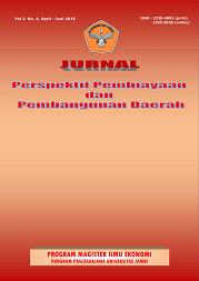 View Vol. 2 No. 4 (2015): Jurnal Perspektif Pembiayaan dan Pembangunan Daerah