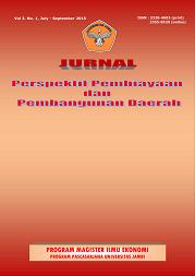View Vol. 3 No. 1 (2015): Jurnal Perspektif Pembiayaan dan Pembangunan Daerah