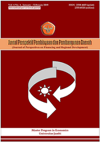 View Vol. 6 No. 4 (2019): Journal of Perspectives on Financing and Regional Development