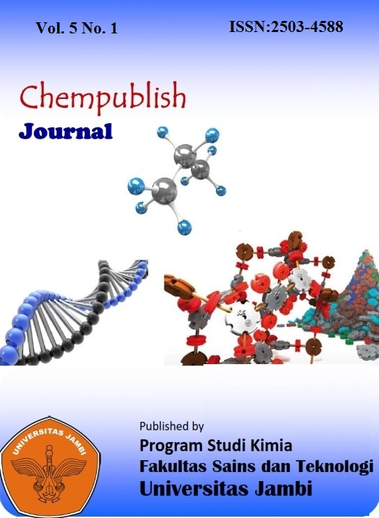 View Vol. 5 No. 1 (2020): Chempublish Journal