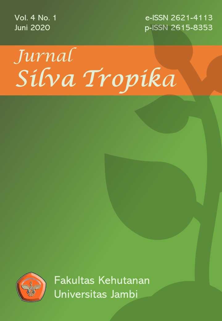 View Vol. 4 No. 1 (2020): Jurnal Silva Tropika