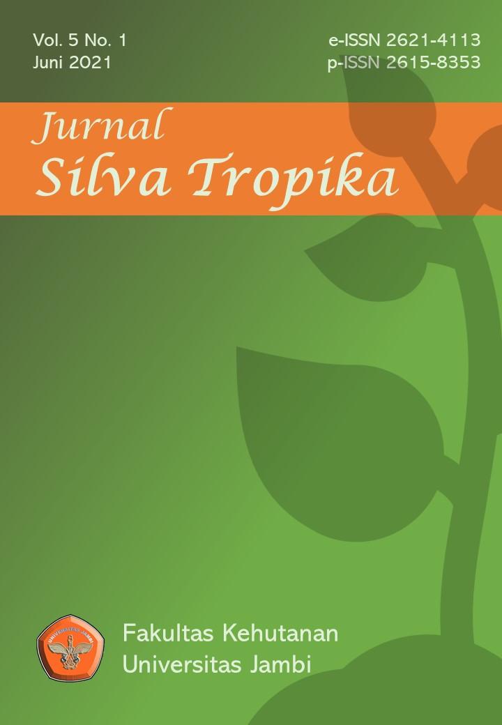 View Vol. 5 No. 1 (2021): Jurnal Silva Tropika