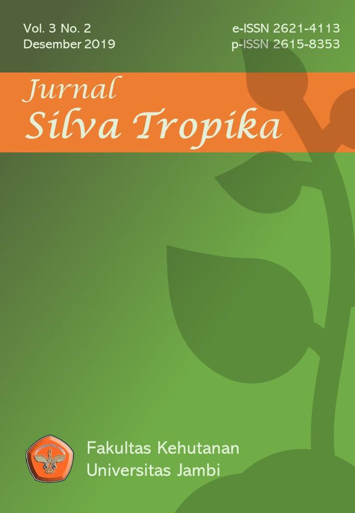 Jurnal Silva Tropika, Volume 3, Nomor 2.